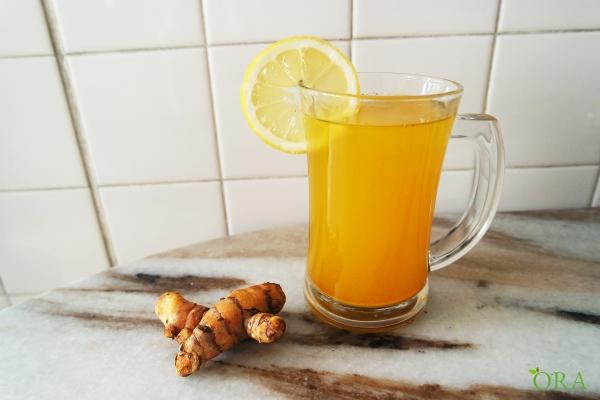 Turmeric with Honey Drink