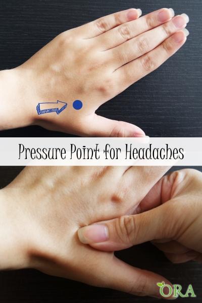 Acupressure Point for Headache by ORA